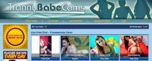 TrannyBabeCams Site Review